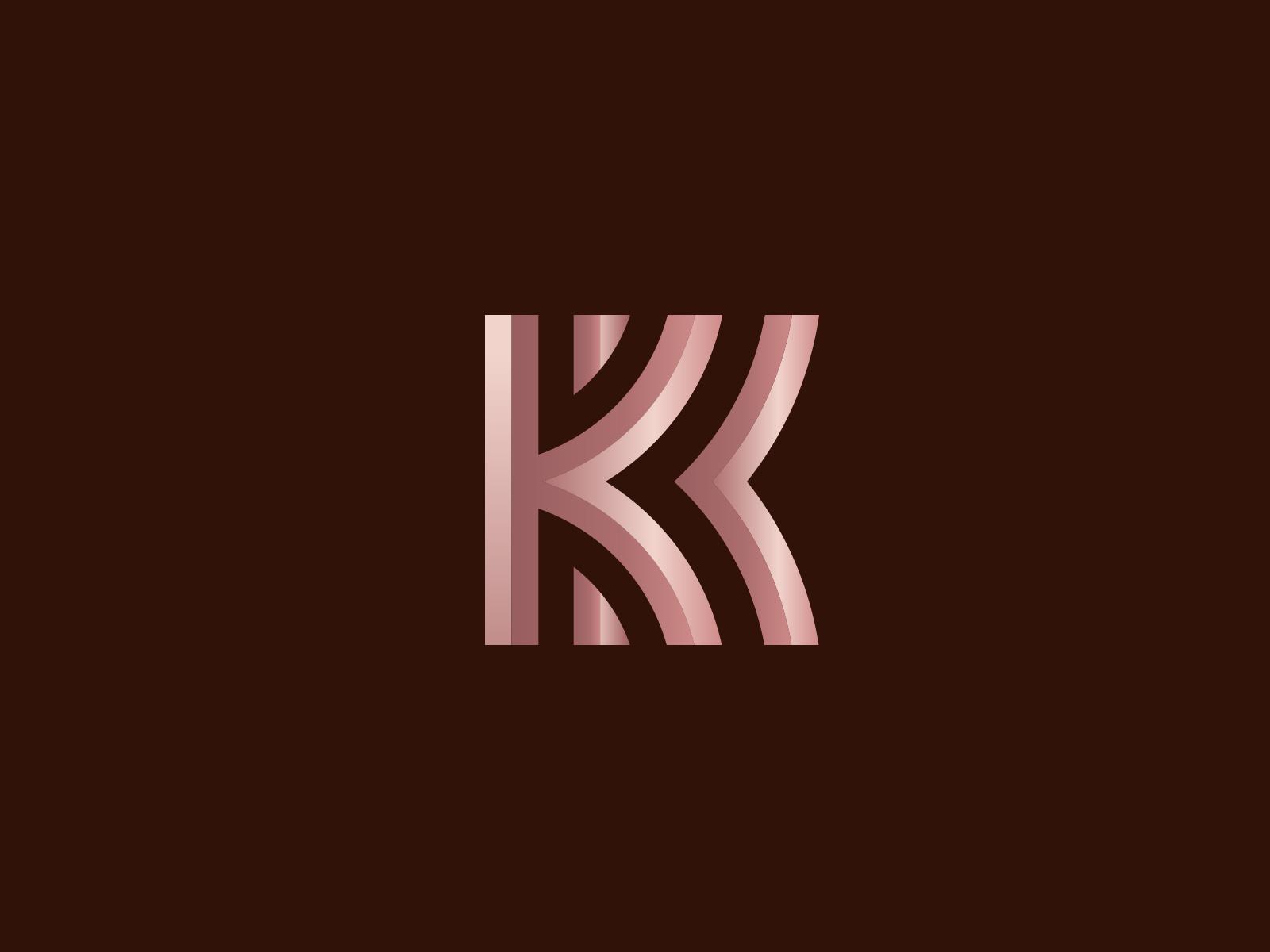 KK by Logo Designer, Vick Ben on Dribbble.