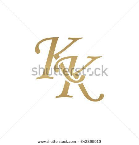 KK initial monogram logo.