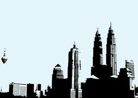 Kuala Lumpur Malaysia Clip Art, Vector Kuala Lumpur Malaysia.