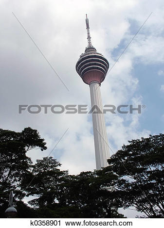 Stock Photography of KL Tower k0358901.