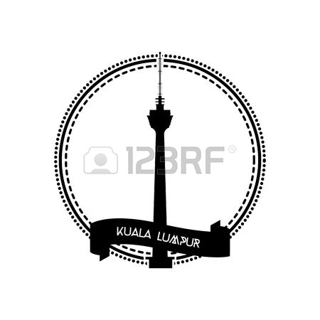 266 Kuala Lumpur Tower Stock Vector Illustration And Royalty Free.