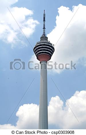 Pictures of KL Tower.