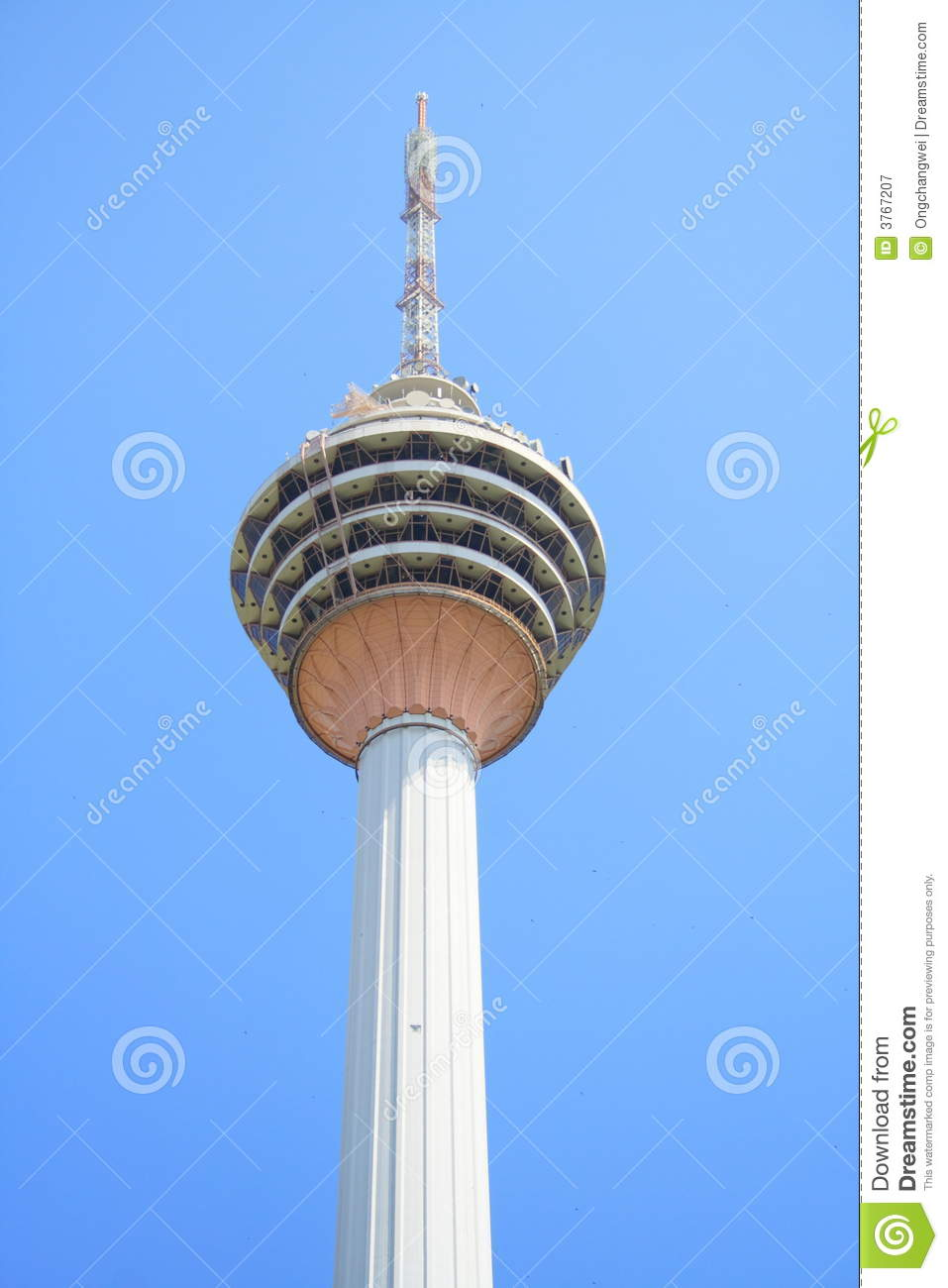 KL Tower Royalty Free Stock Photography.