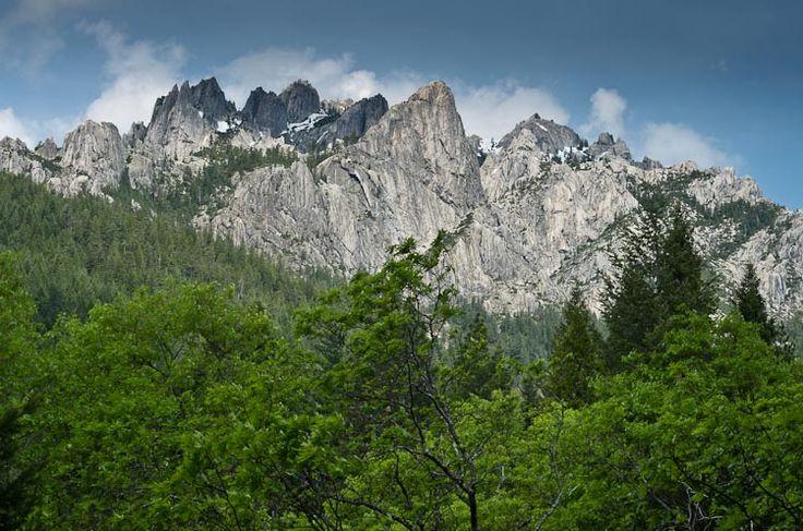 Klamath Mountain Range.
