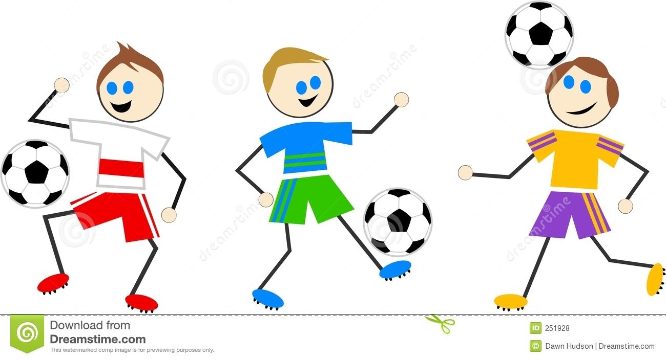 Women Soccer Clipart.