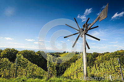 Klapotetz,a Styrian Scarecrow Royalty Free Stock Photo.