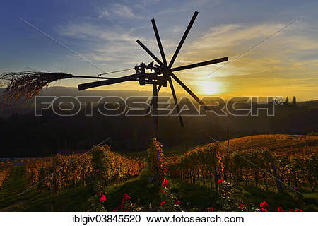 """Stock Photography of """"The Klapotetz, the South Styrian variant of."""