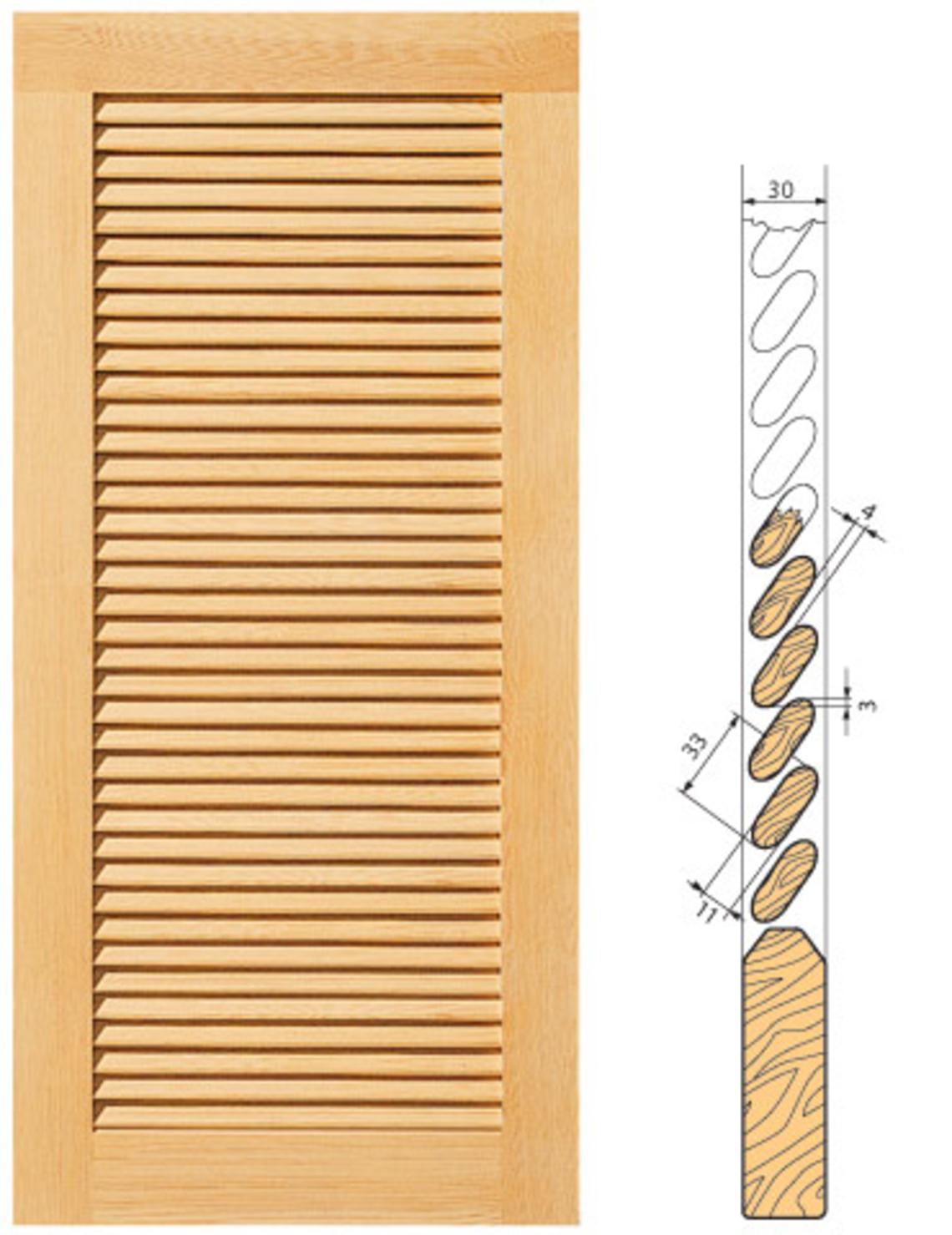 A. BLANK GmbH: Fensterladen aus Holz.