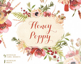 Poppy wreath.