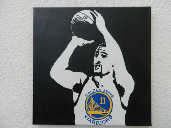 Golden State Warriors Klay Thompson Splash.
