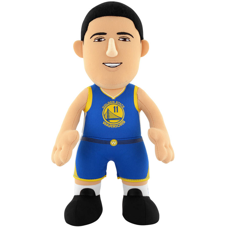 NBA Golden State Warriors Klay Thompson Blue Uniform 10