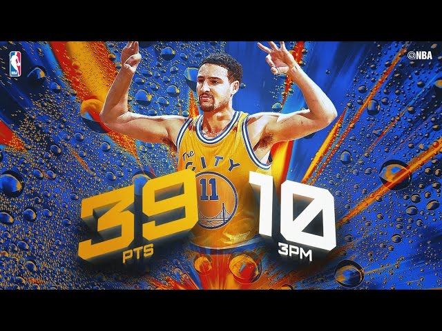 Klay Thompson Drops 39 in Warriors Win (VIDEO).