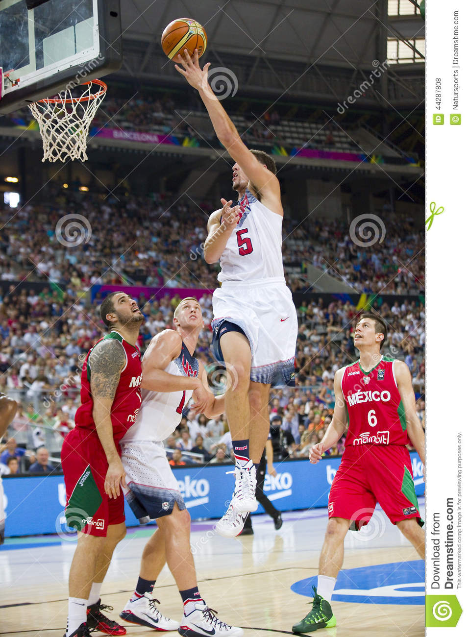 Klay Thompson Of USA Team Editorial Stock Photo.