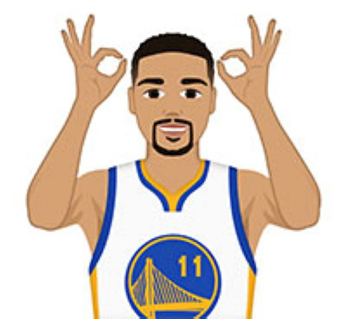 NBA Finals 2016 emojis.