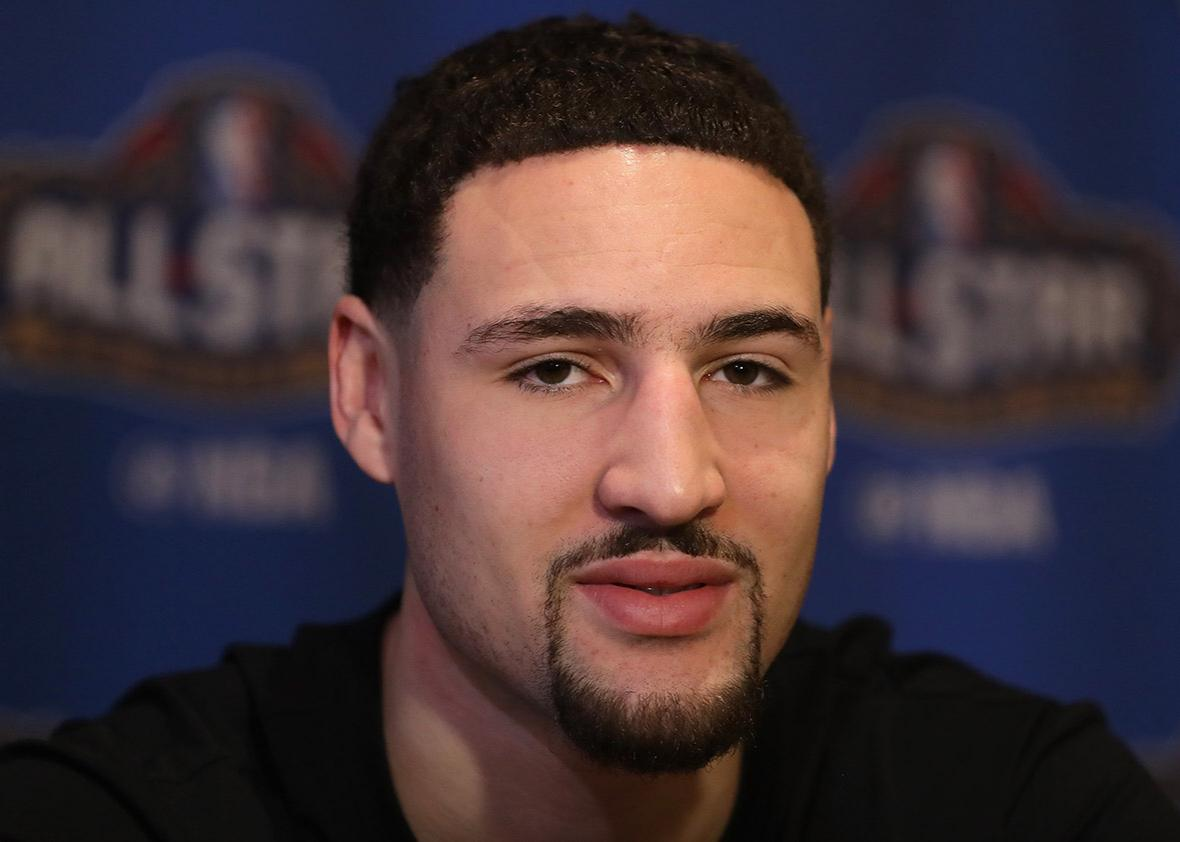 Is Klay Thompson a robot?.