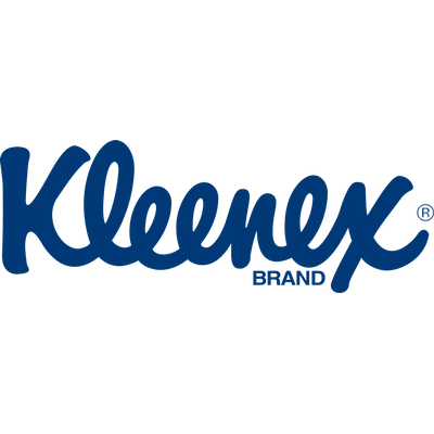 Kleenex Logo transparent PNG.