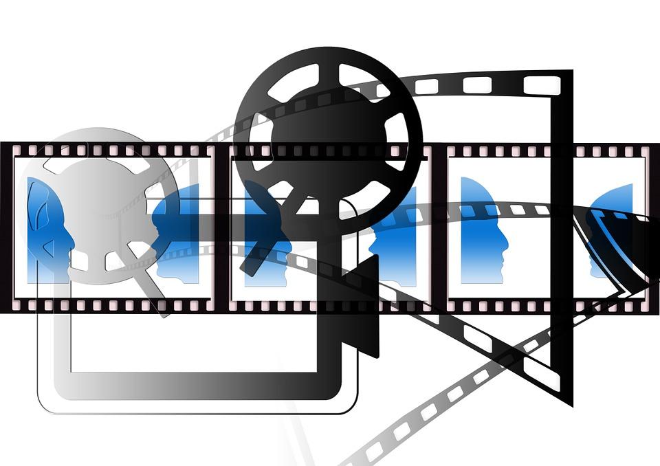 Free illustration: Demonstration, Projector.