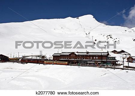 Stock Photography of Kleine Scheidegg k2077780.
