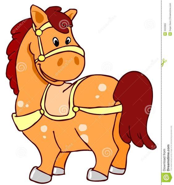 Funny Horse Clip Art.