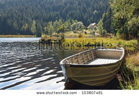 Swamp Boat Stock Images, Royalty.