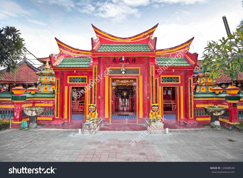 Caow Eng Bio Chinese Buddhiist Temple Stock Photo 120688540.