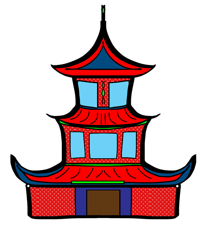 Free illustration: Pagoda, New Year, China.