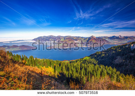 Rigi Stock Photos, Royalty.