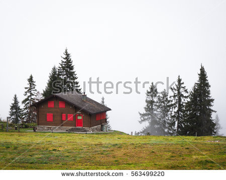 Swiss Chalet Stock Photos, Royalty.