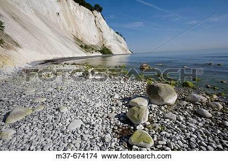 Stock Photo of Mons Klint. South Zealand. Denmark. m37.