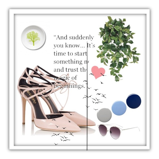 """new beginnings"""" by facooper ❤ liked on Polyvore featuring art."""