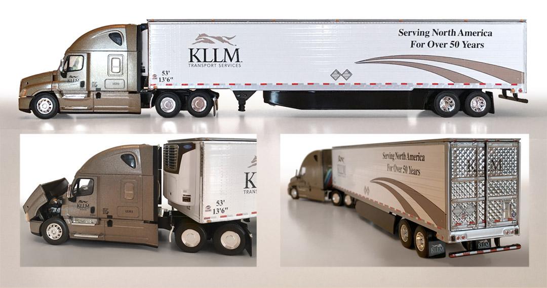 KLLM Die Cast Truck.