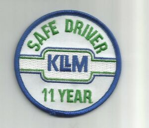 Details about KLLM safe driver 11 year driver patch 3 in dia #3463.