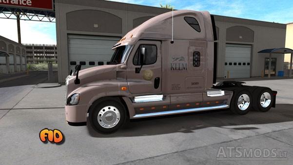 Freightliner Cascadia KLLM Transport Skin.