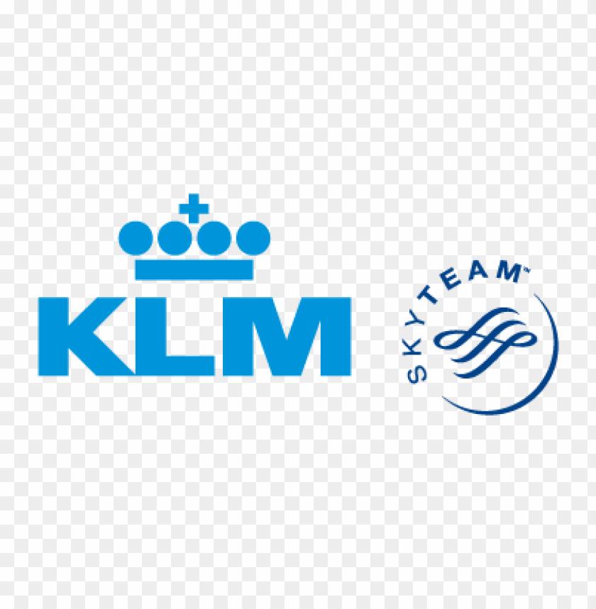klm skyteam vector logo.