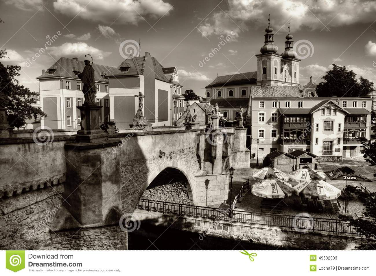 Klodzko In Poland Editorial Stock Photo.