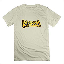 Klonoa Logo Religion Casual Natural T Shirt For Teenagers.