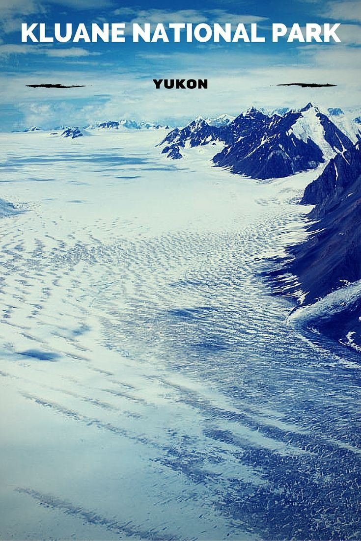 Chasing glaciers on a Kluane National Park flightseeing tour.