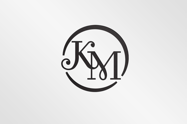 Traditional, Bold, Wedding Planner Logo Design for KM, KM.