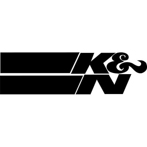 K&N Decal Sticker.