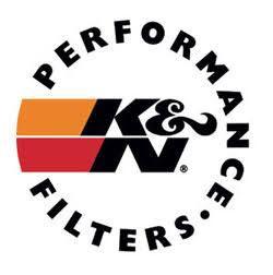 K&N filters logo.