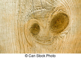 Stock Photography of Old plank with knag and resin macro.