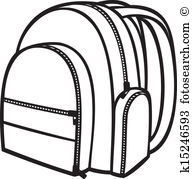 Knapsack Clip Art EPS Images. 1,357 knapsack clipart vector.