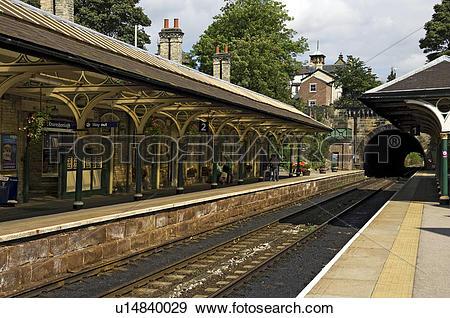 Stock Photograph of England, North Yorkshire, Knaresborough, The.