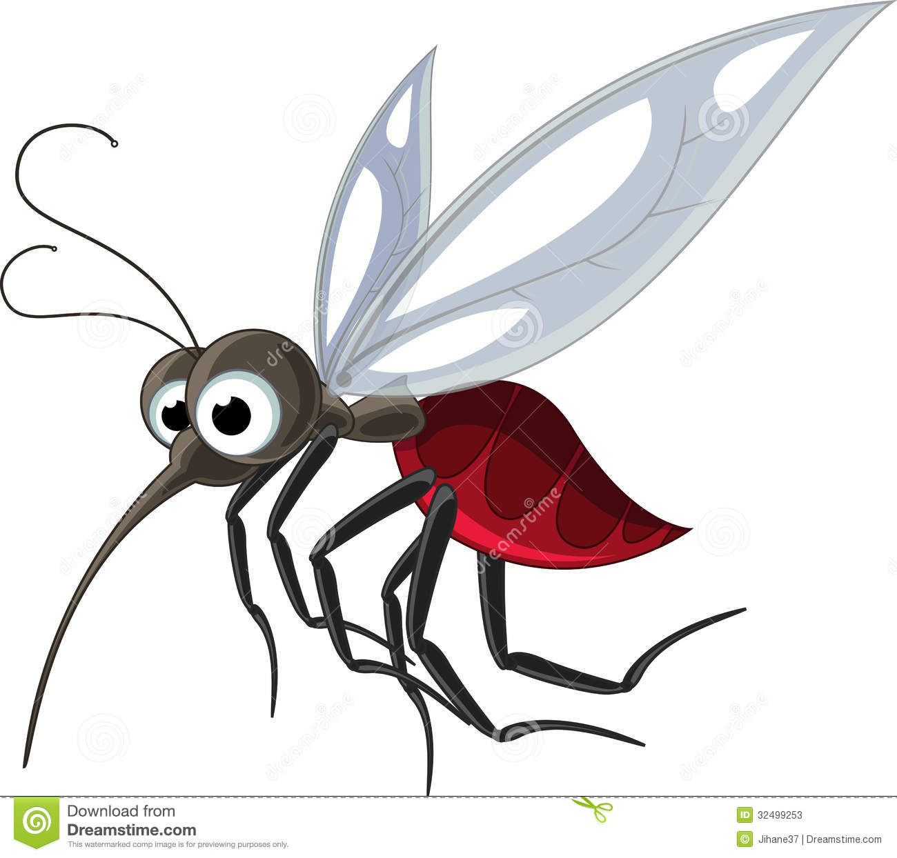 Gnat Stock Illustrations.