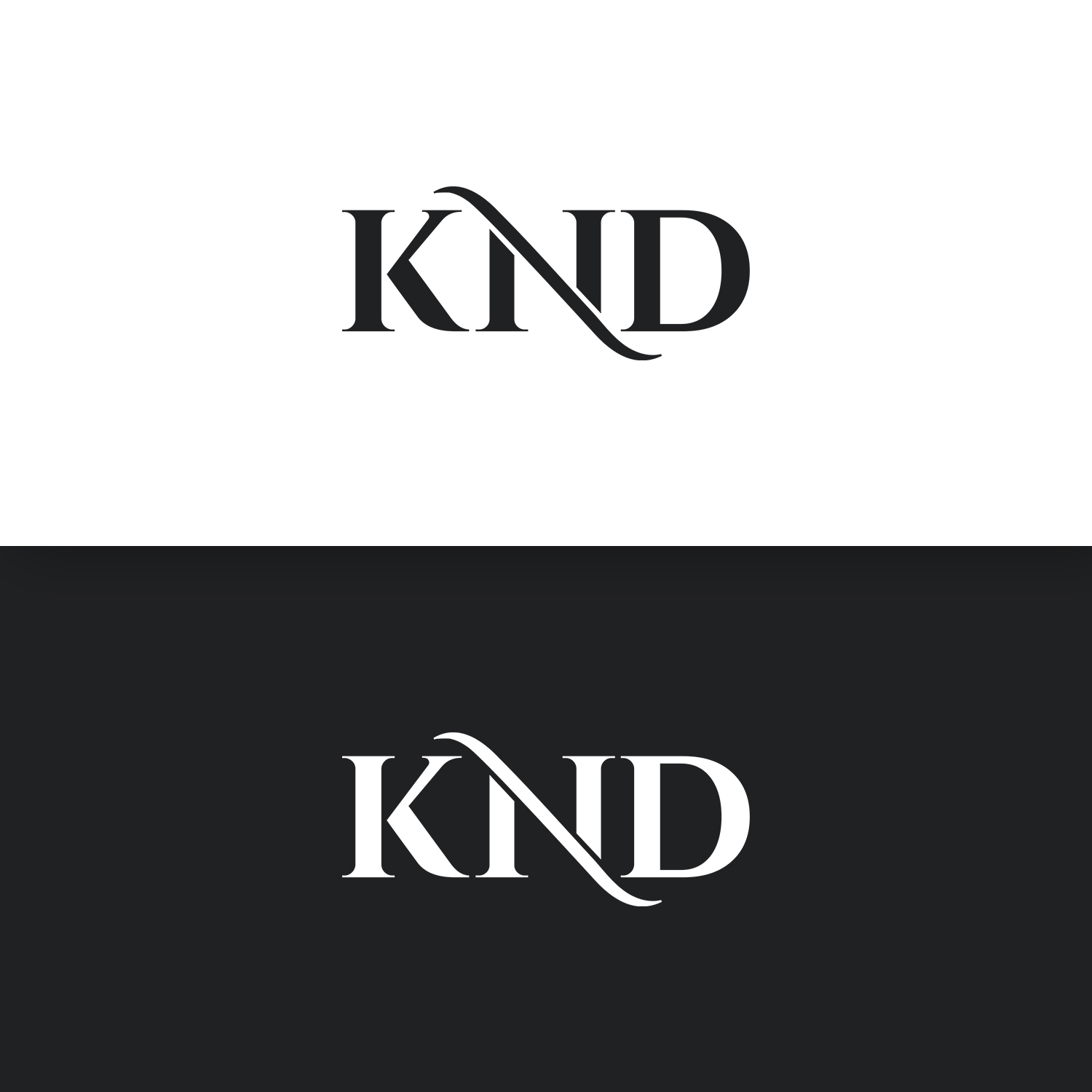 Upmarket, Professional Logo Design for KND by yHutomo.