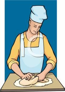 Knead dough clipart - Clipground