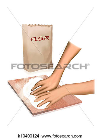 Knead flour Stock Illustrations. 40 knead flour clip art images.