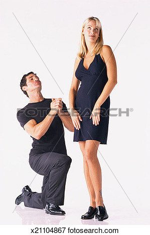 Man on bended knee clipart.