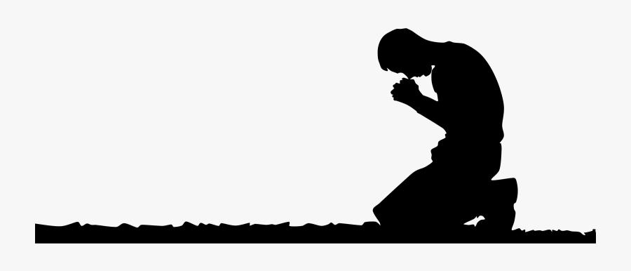Kneeling Man Prayer Clipart Psalms 116.