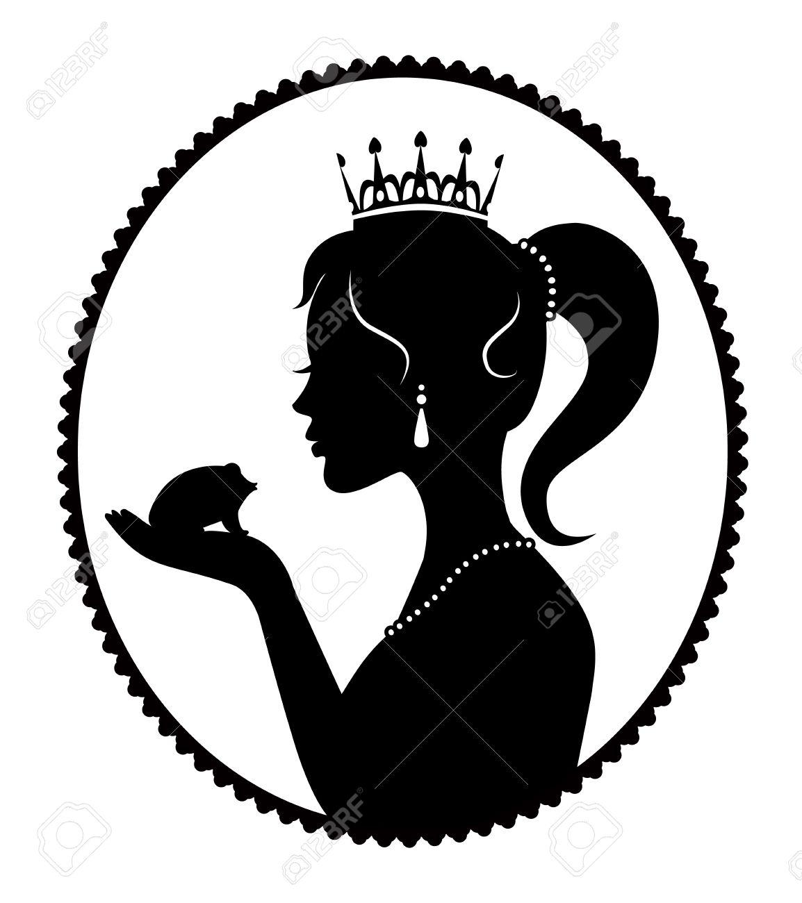 Princess crown silhouette clip art - photo#48